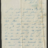Salina Saltsgiver letters, mid- to late 19th century
