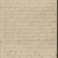 Letter Undated, Unsigned Page 3