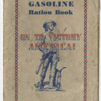 Gasoline Ration Book Page 1