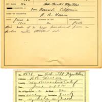 Thomas Wilmer Dewing, egg card # 348