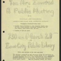 1972-03-20 'You Are Invited to A Public Meeting'