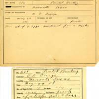 Thomas Wilmer Dewing, egg card # 745u