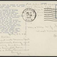 1942-07-20 Postcard back