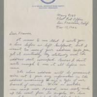 1942-11-15 Maurice Hutchison to Laura Frances Davis Page 1