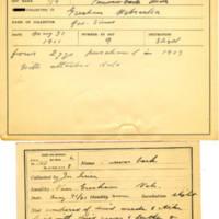 Thomas Wilmer Dewing, egg card # 110