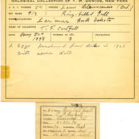 Thomas Wilmer Dewing, egg card # 043