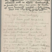 1918-10-30 Jessie R. Hyland to Mrs. Whitley Page 1