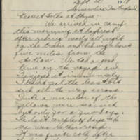 1918-09-30 Thomas Messenger to Mr. & Mrs. N.H. Messenger Page 1