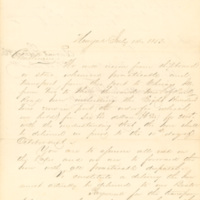 Durant, Lathrop & Co. correspondence, invoices and receipts, 1852-1856