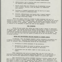 """1970-06-03 Report: """"""""Campus Tensions -- A Report on Iowa and Elsewhere"""""""" Page 9"""