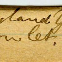 Clinton Mellen Jones, egg card # 335
