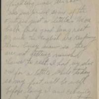 1918-08-20 Harvey Wertz to Mr. L.A. Wertz Page 3