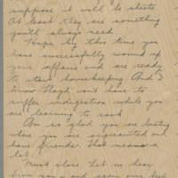 1942-01-12 Freda Crippen to Laura Frances Davis Page 3