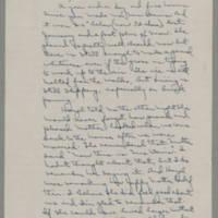 Laura Davis letters to her husband Lloyd Davis, January 1942