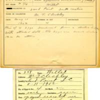 Thomas Wilmer Dewing, egg card # 175