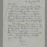 1943-04-18 Laura Davis to Lloyd Davis