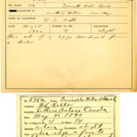 Thomas Wilmer Dewing, egg card # 540