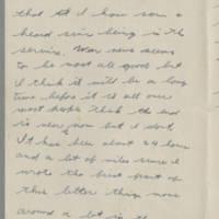 1943-11-03 Lloyd Davis to Laura Davis Page 2