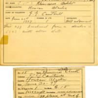 Thomas Wilmer Dewing, egg card # 016