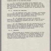 Statement of Purpose and By-Laws of the Mayor's Commission on Civic Duty Page 4