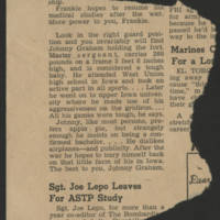 1943-11-10 Page 3 - Newspaper clipping