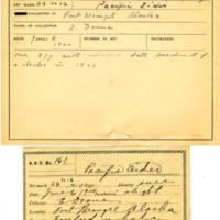 Thomas Wilmer Dewing, egg card # 120