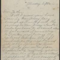 1917-09-25 Harvey Wertz to Mr. L.A. Wertz Page 1