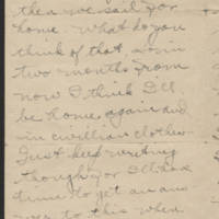 1919-04-09 Thomas Messenger to Mr. & Mrs. N.H. Messenger Page 2