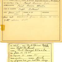 Thomas Wilmer Dewing, egg card # 030