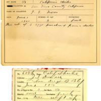 Thomas Wilmer Dewing, egg card # 504