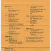 1975-04-18  Invitacion: Reflecciones de la raza Page 1