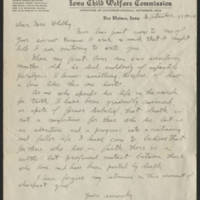 1924-09-13 Howell Hart to Mrs. Francis E. Whitley