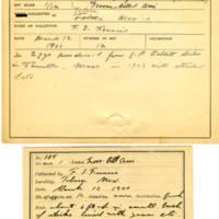 Thomas Wilmer Dewing, egg card # 267