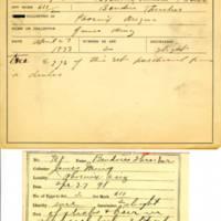 Thomas Wilmer Dewing, egg card # 814u