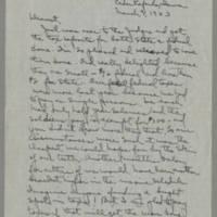 1943-03-09 Laura Davis to Lloyd Davis Page 1