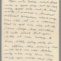 1942-08-11 Lloyd Davis to Laura Davis Page 1