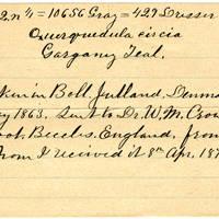 Clinton Mellen Jones, egg card # 178