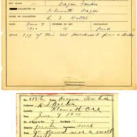 Thomas Wilmer Dewing, egg card # 474