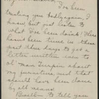 1918-09-17 Daphne Reynolds to Conger Reynolds Page 1