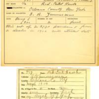 Thomas Wilmer Dewing, egg card # 219