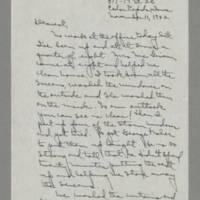 1942-11-11 Laura Davis to Lloyd Davis Page 1
