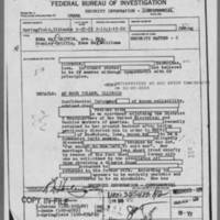 1952-03-25 Field Report originating out of Springfield, Illinois Office Confidential Informant details Page 1