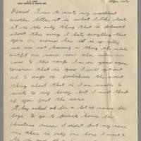 1942-12-21 Lloyd Davis to Laura Davis Page 1