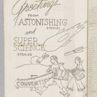 """""Greetings From Astonishing Stories and Super Science Stories"""""