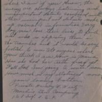 1918-05-22 Harvey Wertz to Miss Dorothy Wertz Page 4