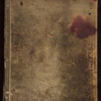 English cookbook, 1799