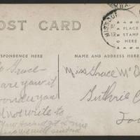 Undated Postcard 3 back
