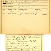 Thomas Wilmer Dewing, egg card # 735u