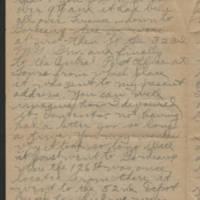 1919-01-02 Thomas Messenger to Mr. & Mrs. N.H. Messenger Page 2