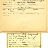 Thomas Wilmer Dewing, egg card # 717u